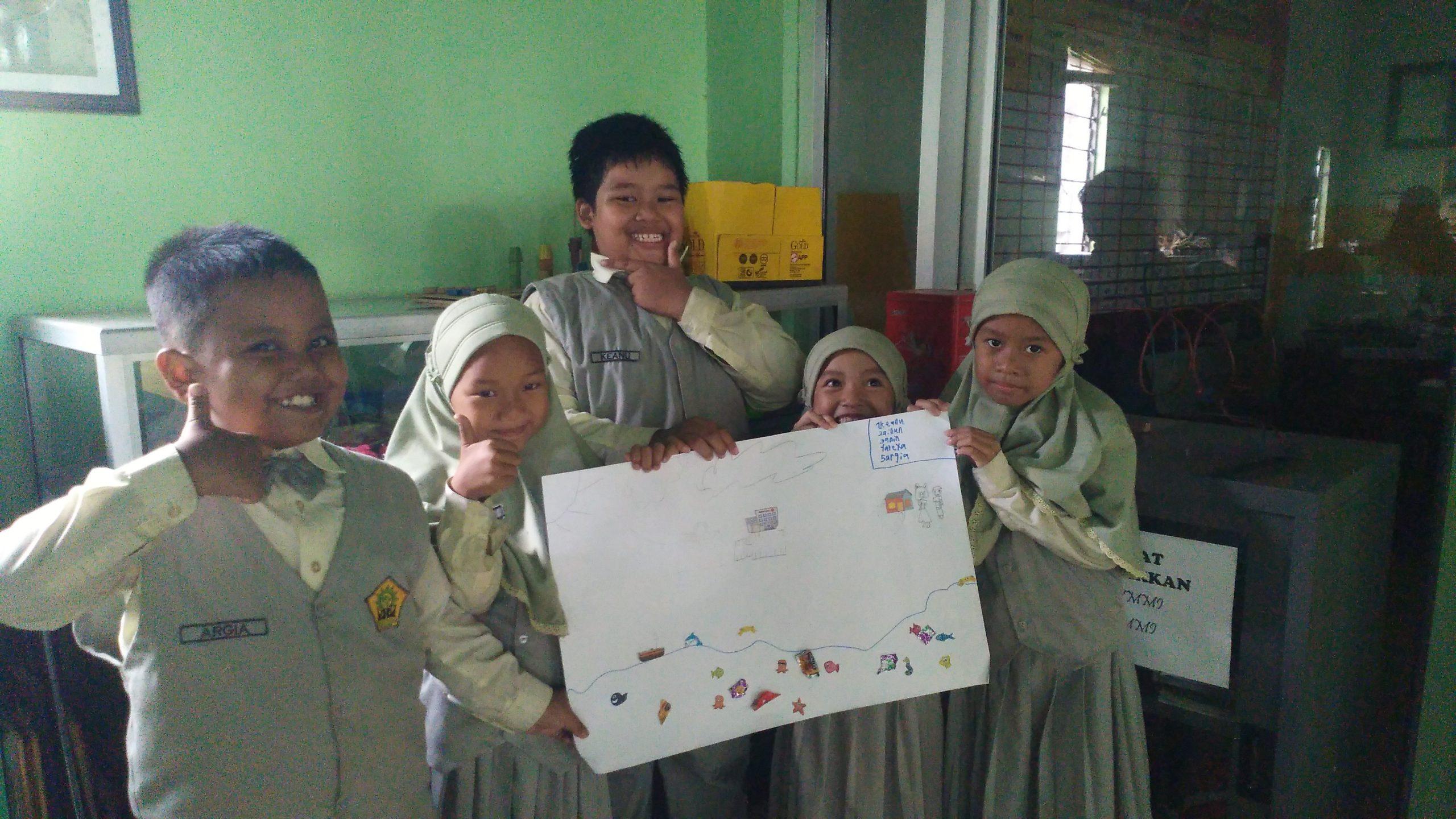 Dzul Qarnain, SD Muhammadiyah 4-Eco Poster