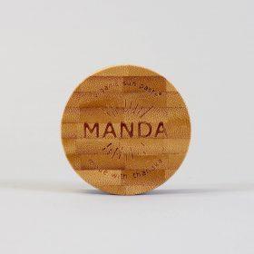 Organic Sun Paste made with Thanaka produced by Manda